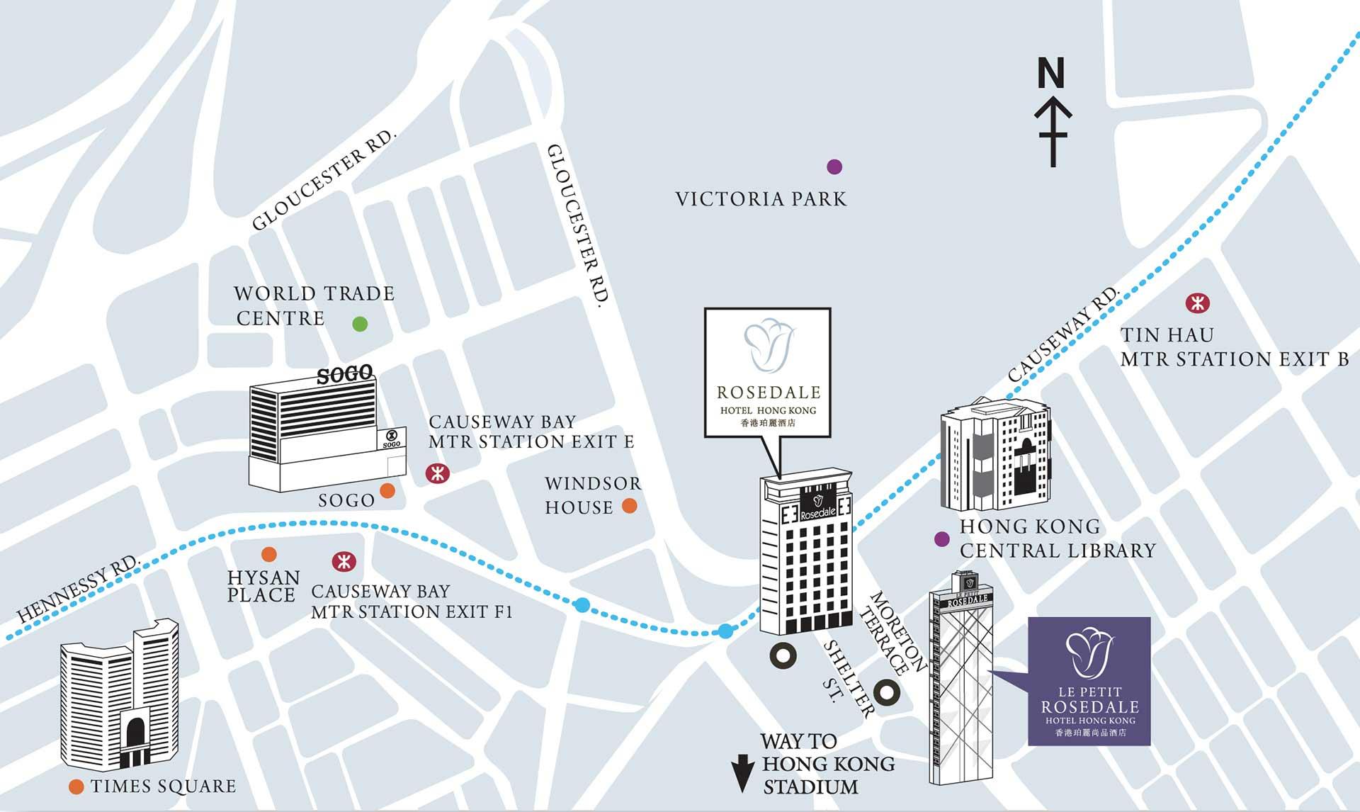 Hong Kong Subway Map Download.Hotel Location Le Petit Rosedale Hotel Hong Kong